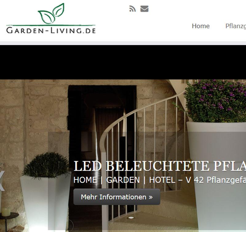 Garden-Living.de: Gartenmöbel und Pflanzgefässe im italienischen Design