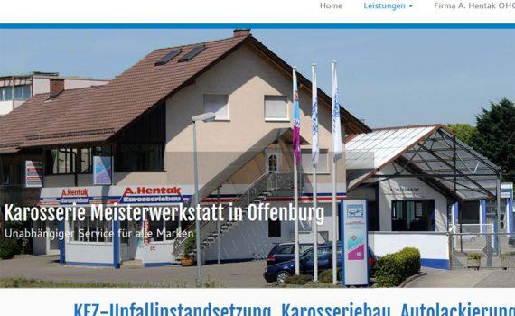 Hentak Abschleppdienst, Unfallinstandsetzung, Autolackierungen