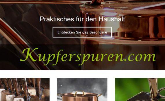Gartengeräte und Kochtöpfe aus Kupfer