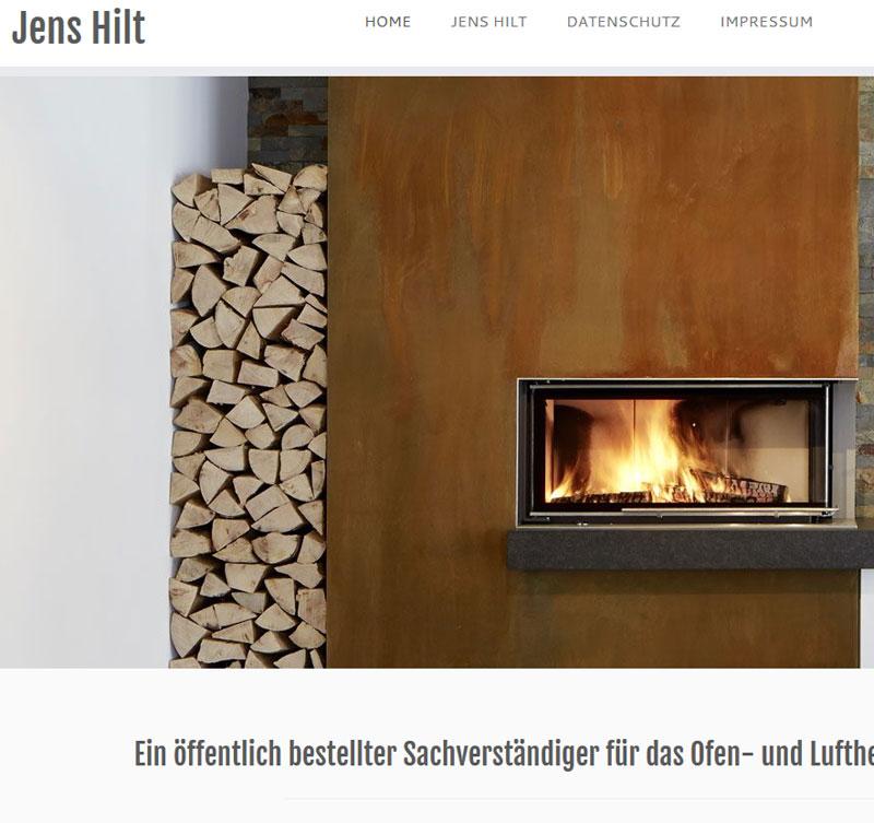 Jens Hilt, Öffentlich bestellter und vereidigter Sachverständiger für das Kachelofen- und Luftheizungsbauer - Handwerk