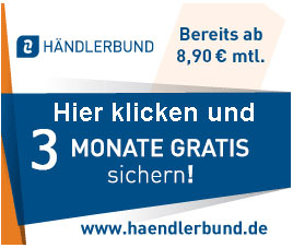 3 Monate gratis Mitgliedschaft im Händlerbund